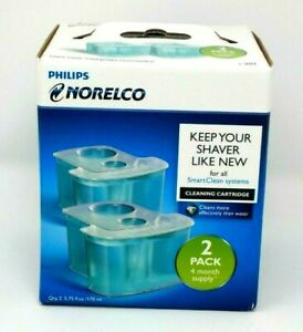 Philips Norelco JC302/52 Smartclean Replacement Cleaning Cartridge for Shaver
