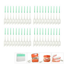40Pcs Soft Dental Oral Floss Clean Brushes Between Interdental Teeth Care Tool