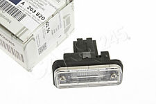 Genuine License Plate Light MERCEDES S203 W211 CLS W219 C219 SLK R171 2001-2011