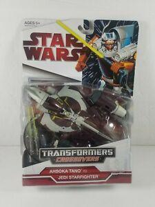 Star Wars Transformers Crossovers Ahsoka Tano Jedi Starfighter New Sealed 2009