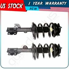 For 2007-2011 Toyota Camry Front Complete Struts & Coil Springs Assemblies x 2