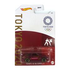 Hot Wheels Toyota Ae86 Corolla Tokyo Olympics JDM Maroon 2020 No 5 Gdg83