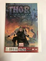 Thor God Of Thunder #2 (NM-) Jason Aaron 1st Gorr!