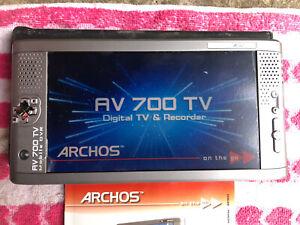 ARCHOS AV700 DVR MOBILE DIGITAL VIDEO RECORDER