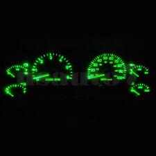 Dash Instrument Cluster Gauge Green SMD LED LIGHT KIT Fit 97-01 Jeep Cherokee XJ