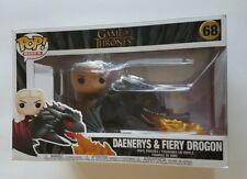 Funko Pop Rides 68 Game Of Thrones Daenerys & Fiery Drogon