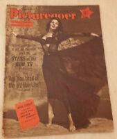 1955 PICTUREGOER FILM MAGAZINE Cover MARA CORDAY - 24th September.