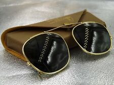 c438191595 Vintage 1960s B   L Ray Ban Bausch   Lomb Clip On Sunglasses with Case