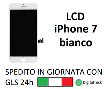 TOUCH SCREEN + LCD DISPLAY + FRAME PER APPLE IPHONE 7 BIANCO