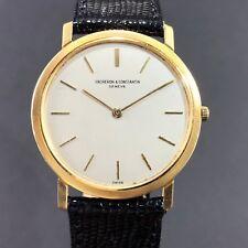 Men's Vacheron Constantin Patrimony Ultrathin Just 5mm, 18k Gold Watch Ref.6351
