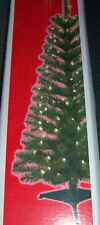 4 FT Pre-Lit Christmas Tree Artificial Pine 100 Clear Lights 125 Tips New!