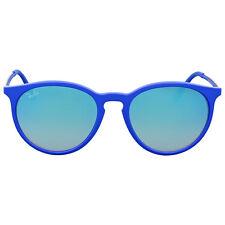 Ray Ban Blue Gradient Flash Round Sunglasses RB4274