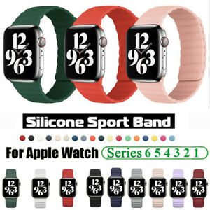 For Apple Watch 6 Magnetic Loop Strap Band 44mm 40mm iWatch Series SE 5 4 3 2 1