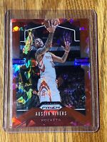 2019-20 Austin Rivers Panini Prizm Silver Cracked Ice Red 🔴#213 Houston Rockets