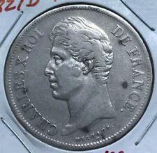 1827 D France 5 Francs - Big Silver