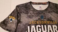 NWT Womans Small Jacksonville Jaguars Youth Size L NFL Dri Tek Athletic TShirt