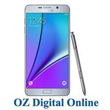"NEW Samsung Galaxy Note 5 Dual N920 32GB Silver 4G LTE 16MP 5.7"" Unlocked Phone"