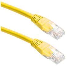 UTP Kabel  Ethernet Cat 5E RJ45 Ethernet Geel 2m