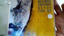 RICCARDO COCCIANTE RESTA CON ME CD SINGLE PROMO VIRGIN TIMBRO ROSSO SIAE