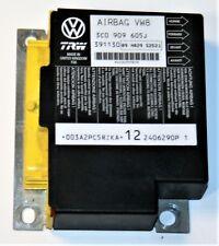 VW Passat MK7 Air Bag Ecu Crash Control Sensor Module 3C0909605J 3C0 909 605 J