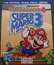 NEW Official Super Mario Bros 3 Game Boy Advance 4 Player's Strategy Guide