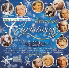 Essential Christmas 4CD kenny G,Il Divo,Frank Sinatra,Air Supply,Raul Di Blasio
