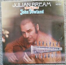 Julian Bream Lute Music of John Dowland LP Made in Italy RCA RL81491 Very Clean