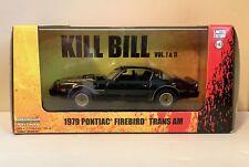 1979 PONTIAC FIREBIRD TRANS AM KILL BILL VOL 1&2 GREENLIGHT 1:43