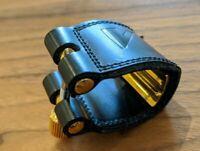 Vandoren LC27 Leather Ligature for Alto Saxophone. As photographed.