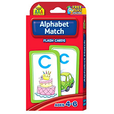 Alphabet Match Flash Cards Preschool Learning Game for Kids, Teachers, .