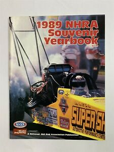 Excellent 1989 NHRA SOUVENIR YEARBOOK 1988 Results Photos Top 10 Finishers 9A-1
