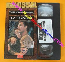 VHS film  LA TUNICA kolossal 2001 FABBRI VIDEO Henry Koster (F104) no dvd