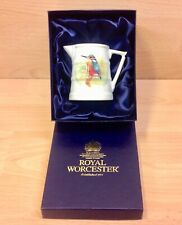 "Royal Worcester Historical Jug Collection ""Kingfisher Barrel"" Replica Jug Boxed."