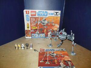 LEGO Set #7681 Star Wars: The Clone Wars: Separatist Spider Droid -100% Complete