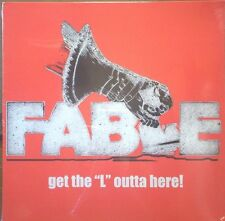 "FABLE - GET THE ""L"" OUTTA HERE 75 CANADA HRD ROCK ala MAHOGANY RUSH SEALD #D 2LP"