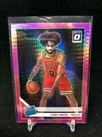 COBY WHITE 2019-20 DONRUSS OPTIC PINK HYPER PRIZM ROOKIE RC #180 BULLS  S67