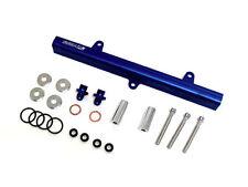 OBX Blue Top Feed Aluminum Fuel Rail Fits 180SX 200SX Sliva S13 2.0L SR20DET