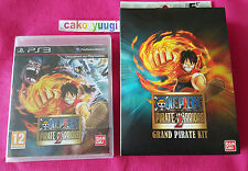 ONE PIECE PIRATE WARRIORS 2 SONY PS3 NEUF SOUS BLISTER + GRAND PIRATE KIT