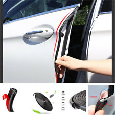 5M Black Rubber Car SUV Door Trunk Lip Edge Seal Trim Protector Strip waterproof