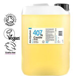 Naissance Castile Liquid Soap Organic SLS Free 5 Litres 5L Wholesale