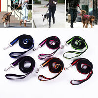 Pet Dog Puppy Retractable Nylon Training Lead Leash Strap Outdoor