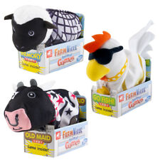 FarmVille Classic Card Games Kids Animal Travel Pouch Old Maid Memory Go Fish
