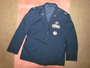 U.S. Air Force Lt. Colonel dress jacket with Medals and  Ribbons--(USAF)