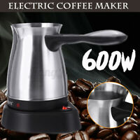 SOKANY 600W Electric Coffee Maker Pot Milk Greek Turkish Espresso Percolator