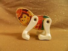 Vintage Fisher Price JUNIOR CIRCUS 902 Figure wood/plastic replacement MONKEY