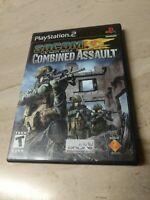 Socom U.S. Navy Seals Combined Assault PlayStation 2 PS2