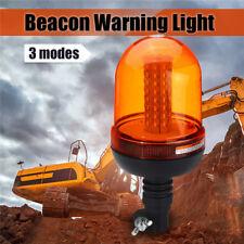 DC 12V-24V 80 LED Flashing Strobe Beacon Emergency Warning Light Car Amber Lamp