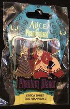 Disney Alice in Phantomland Alice Queen and King of Hearts  Phantom Manor pin Le