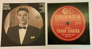 LOT of 2 FRANK SINATRA vintage 1986 Poster Flats COLUMBIA YEARS CBS Records