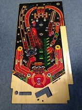 1984 Gottlieb THE GAMES pinball machine NOS blank playfield - RARE nice